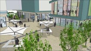 Keynsham regeneration mock-up