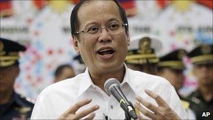 File image of Benigno 'Noynoy' Aquino, from 16 February 2011
