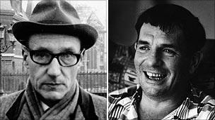 William Burroughs and Jack Kerouac
