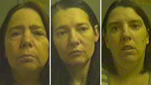 Elaine Batley, Jacqueline Marling and Shelley Millar