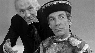 William Hartnell and Michael Gough