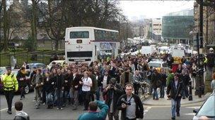 Hetherington protest
