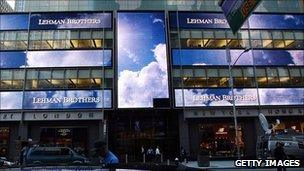 Headquarters of Lehman Brothers