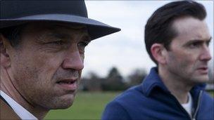 Dougray Scott and David Tennant in United