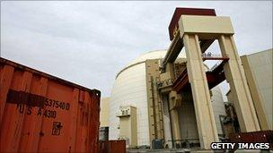 Iran Bushehr nuclear plant