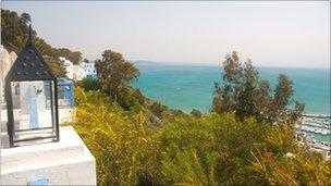Tunisian sea