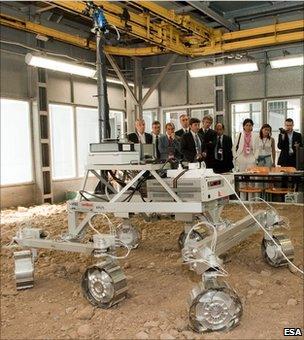 ExoMars prototype