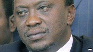Uhuru Kenyatta (file photo)