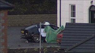 Ronan Kerr car after murder