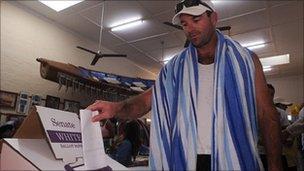 Polling day in Australia