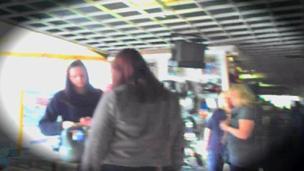 undercovery filming in Leekes