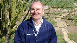 BBC Essex presenter Ray Clark