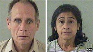 Police photos of Phillip and Nancy Garrido - 27 August 2009