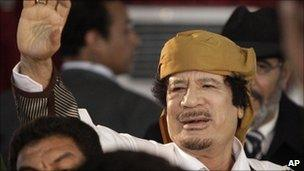 Muammar Gaddafi (2 March 2011)