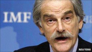 IMF acting managing director John Lipsky (file image)