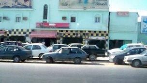 Petrol queue in western Libya