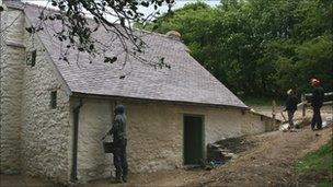 Miners cottage at Blakemoregate
