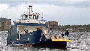 New Cromarty ferry