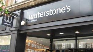 Waterstone's store