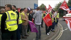 Striking Southampton City Council workers