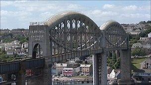 Royal Albert Rail Bridge