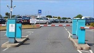 Guernsey Airport car park
