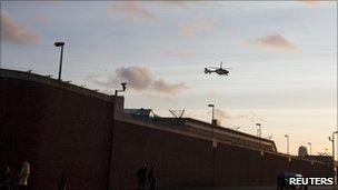 Scheveningen prison in The Hague