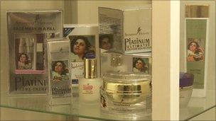 Shahnaz Husain's products
