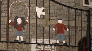 Hillside First School gates
