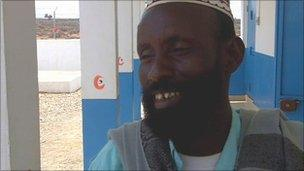 Village Chief Adil Ali Gedde