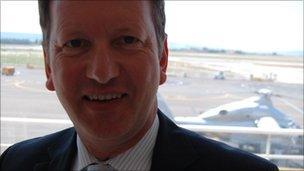 Lutz Bertling, chief executive, Eurocopter