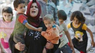 Syrian refugees have sought safety in camps across the border in Turkey