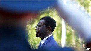Equatorial Guinea's President Teodoro Obiang Nguema (archive shot)