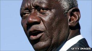 Ghana's former President John Kufuor (archive shot)