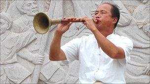 Trumpter in Yan'an