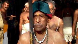 The current Maharajah of Travancore. Pictures: Ashraf Padanna