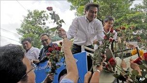 Abhisit Vejjajiva, Bangkok, 2 July