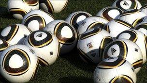 Footballs, AFP/Getty