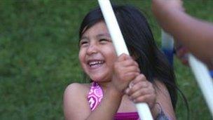 Santana, daughter of Scott Davis