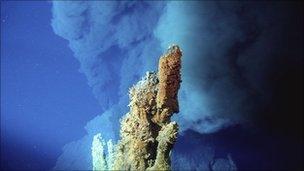 Undersea vent