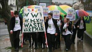 Wakeman School protesters