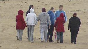 Sean McNair's family and friends continue to search