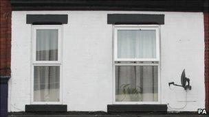 Rebecca Leighton's flat in Heaviley