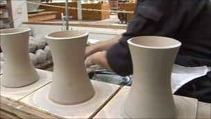 Jersey Pottery moves from its base in Gorey - BBC News