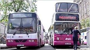 Translink buses