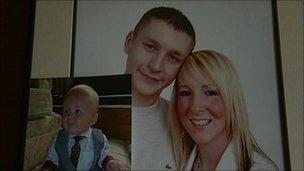 Emma and Jonathan Gray and their son Jake