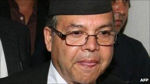 Nepalese Prime Minister Jhalanath Khanal. Photo: 14 August 2011