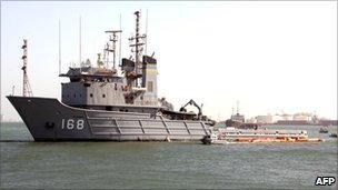 US patrol in Manama