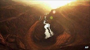 Chromite mines in India