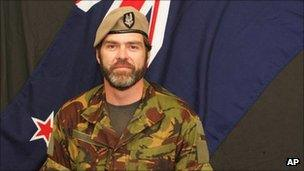 Douglas Grant, in an undated image released by the New Zealand Defence Force